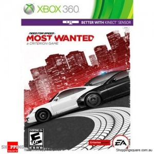 Need for Speed: Most Wanted A Criterion Game - Xbox 360 - Brand New Sealed