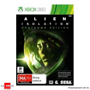 Alien Isolation Nostromo Edition - Xbox 360 Brand New