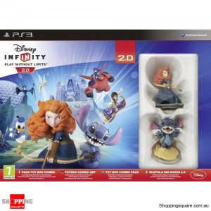 Disney Infinity 2.0 Toy Box Combo Pack - PS3 Playstation 3