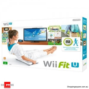 Nintendo Wii Fit With Balance Board - Wii U