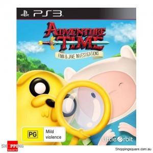 Adventure Time Finn& Jake Investigations - PS3