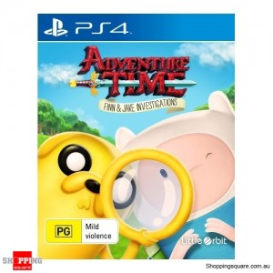 Adventure Time Finn & Jake Investigations - PS4