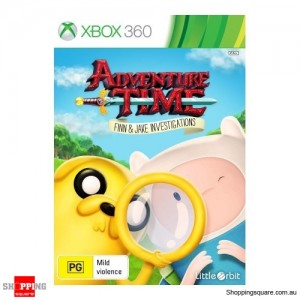 Adventure Time Finn & Jake Investigations - Xbox 360