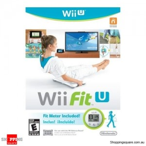 Wii Fit U Game with Fit Meter - Wii U