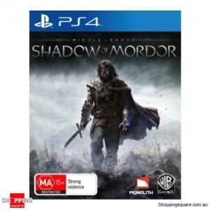 Shadow of Mordor LOTR - PS4