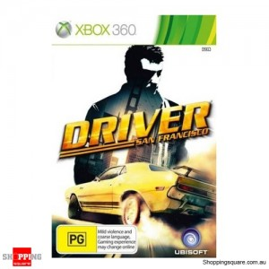 Driver San Francisco - Xbox 360 Brand New