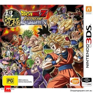 Dragon Ball Z Extreme Butoden - Nintendo 3DS Brand New