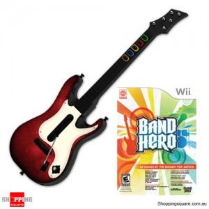 Band Hero Guitar Bundle - Nintendo Wii  (preowned)