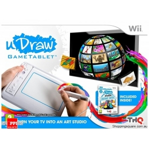 uDraw: Instant Artist Bundle - Nintendo Wii (preowned)