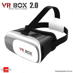 VR BOX 2.0 Google Cardboard Virtual Reality 3D Glasses For iPhone Samsung 3.5 to 6.0 Inch Smartphone