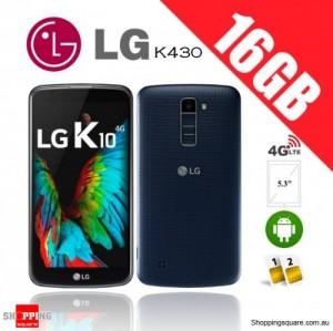 LG K10 Dual Sim K430 16GB 4G Unlocked Smartphone Indigo
