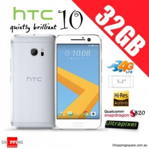 HTC 10 4G LTE 32GB Unlocked Smartphone Silver