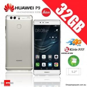 Huawei P9 32GB 4G LTE EVA-L19 Dual Sim Unlocked Smart Phone Mistic Silver