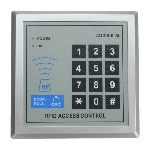 RFID Proximity 10-Key Security Entry Door Lock Access Control System