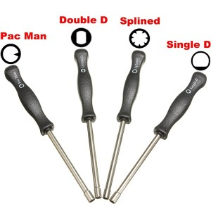 4X Carburetor Tool Trimmer Lawnmowers Screwdriver Kit For Zama Walbro Carbs