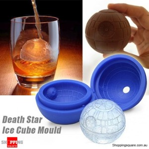 Star Wars Silicone Ice Block Mold Mould for Parties Chocolate Jelly Cube Death Star Shaped