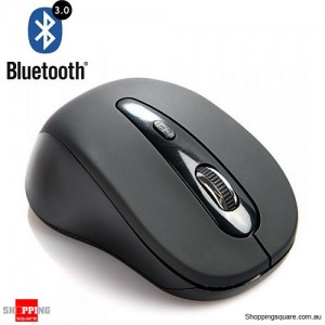 Bluetooth 3.0 Ergonomic Optical Mouse for Tablet TV Box PC Laptop Mac