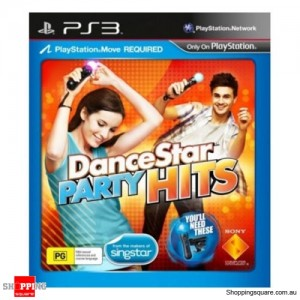 Dance Star Party Hits - PS3 Move Playstation 3