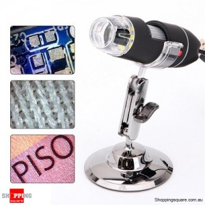 Digital 8 LED USB 2MP Digital Microscope 500X  Endoscope Video Camera Zoom Magnifier