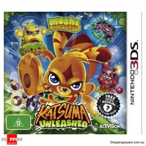 Moshi Monsters - Katsuma Unleashed - 3DS Brand New