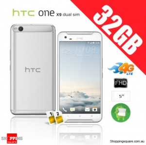 HTC One X9 Dual Sim 32GB 4G Unlocked Smart Phone Opal Silver