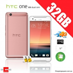 HTC One X9 Dual Sim 32GB 4G Unlocked Smart Phone Cooper Rose