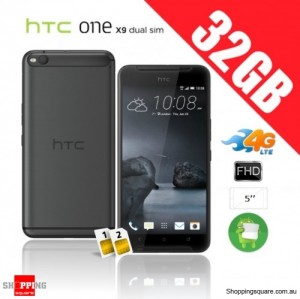 HTC One X9 Dual Sim 32GB 4G Unlocked Smart Phone Carbon Gray