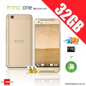 HTC One X9 Dual Sim 32GB 4G Unlocked Smart Phone Topaz Gold