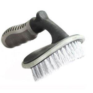 Car Truck Tire Cleaning Curved Brush Dirt Removal Tool
