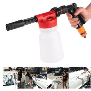 2 in 1 Gun Car Cleaning Washing Foamaster Gun Water Soap Shampoo Sprayer