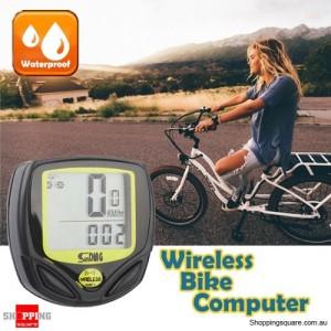 Wireless Waterproof Bicycle Bike Speedometer Computer Odometer Meter for Speed Display