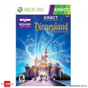Kinect disneyland adventures - Xbox 360 Brand New