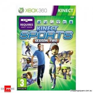 Kinect Sports Season 2 - Xbox 360 Brand New