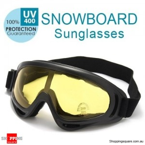 Snowboard Glasses For Ski Snowboard Ski Goggles Yellow Colour - Adult Unisex