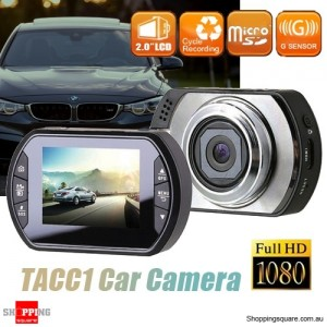 TACC1 FHD 1080P Car Crash Dash Camera DVR Recorder