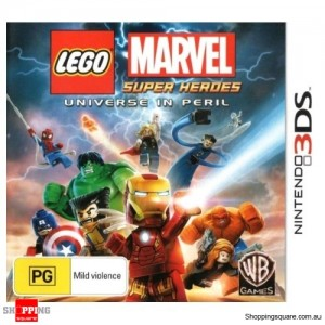 LEGO Marvel Super Heroes - Universe In Peril - 3DS