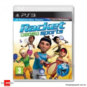 Racket Sports - PS3 Move Playstation 3