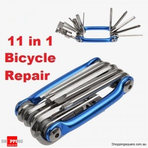 11 in 1 Multi-function Bicycle Repair Tools Kit