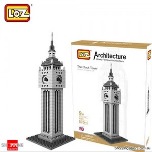 Big Ben - LOZ Architectural World Building Block