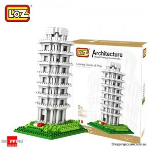 Leaning Tower of Pisa - LOZ Architectural World Building Block