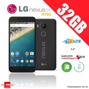 LG Nexus 5X H791 4G 32GB Unlocked Smartphone Black