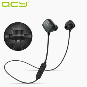 Wireless Bluetooth 4.1 Sport Magnetic Adsorption Stereo Headphone Earphones Black Colour