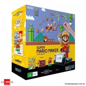 Nintendo 32GB Wii U Console Super Mario Maker Premium Pack