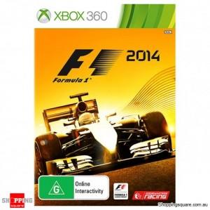 F1 Formula 1 2014 - Xbox 360