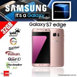 Samsung Galaxy S7 Edge G9350 Dual SIM 4G 32GB Smart Phone Unlocked Pink