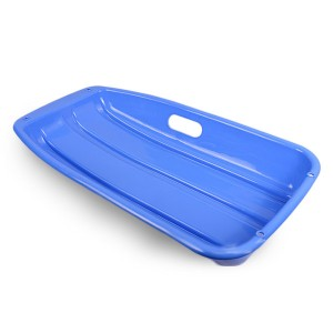 Sled Snowboard Sliding Skiing Board with Rope Blue Colour