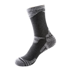 Men Winter Warm Socks for Skiing Outdoor Cycling Hiking Dark Grey Colour