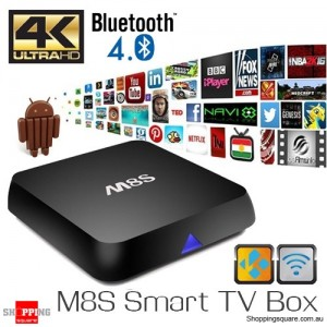 M8S 4K Amlogic S812 Quad Core 2G/8G KODI Mini Smart TV Box Android PC