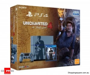 PlayStation 4 1TB Console Uncharted 4 Limited Edition Bundle