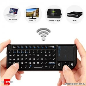 Rii mini X1 wireless keyboard with touchpad for for PC Android TV Box XBOX360 PS3